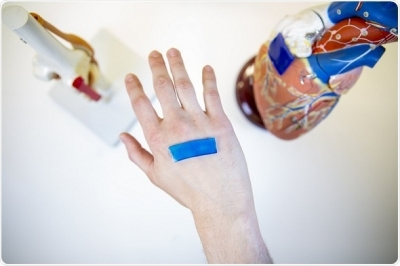 Active adhesive dressings can close wounds faster than other methods