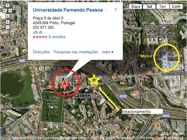 universidade fernando pessoa mapa Palestras Forumenfermagem: Empreendedorismo e Migração universidade fernando pessoa mapa